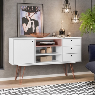 BUFFET RETRO METAL TARANTO – OLIVAR MOVEIS